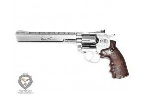 Пневматический револьвер ASG Dan Wesson 8 Silver