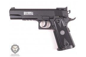Пневматический пистолет Swiss Arms p1911 match