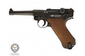 Пневматический пистолет Gletcher P.08 (Blowback)