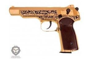 Пневматический пистолет Gletcher GLSG51 (АПС Золотой)