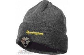 Шапка Remington шерсть 100%, коричневая, шт