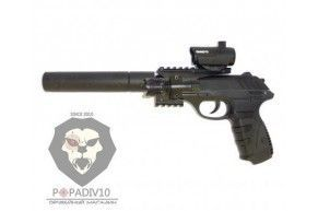 Пневматический пистолет Gamo P-25 Tactical (Blowback)