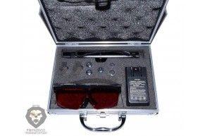 Лазерная указка YX-R008 в кейсе (Синий цвет)