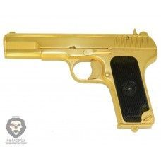 Охолощенный пистолет ТТ СХ Золотой (Молот Армз)