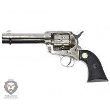 Сигнальный револьвер Colt Peacemaker M1873 Chrome