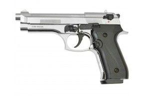 Охолощенный пистолет Beretta 92 CO Курс-С (Хром)