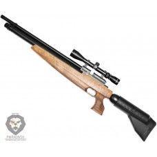 Пневматическая винтовка Kral Puncher Maxi 3 Pitbull PCP (прицел 3-9х40, 4.5 мм, дерево)