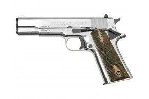 Охолощенный пистолет Курс-С Colt 1911 СО (Кольт, хром)