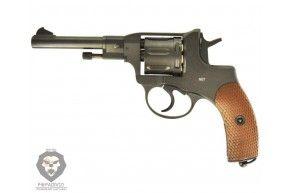 Пневматический револьвер Gletcher NGT Black (Наган)
