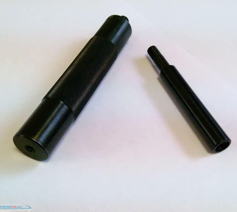 Глушитель на МР 654 (гладкий ствол ПМ)