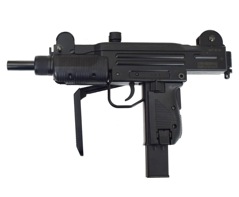 Пневматический пистолет-пулемет Swiss Arms SA Protector (Узи)