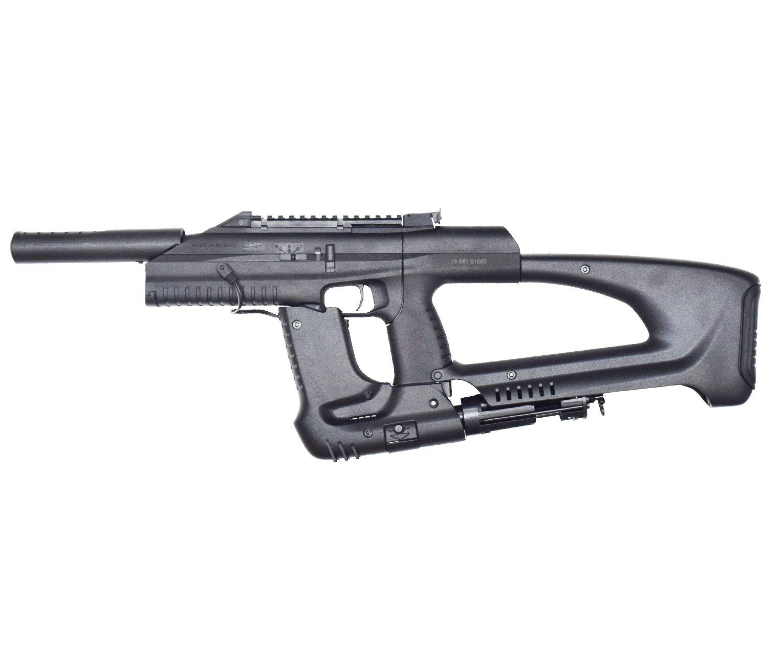Пневматический пистолет - пулемет Baikal МР 661К Дрозд (Бункерный)