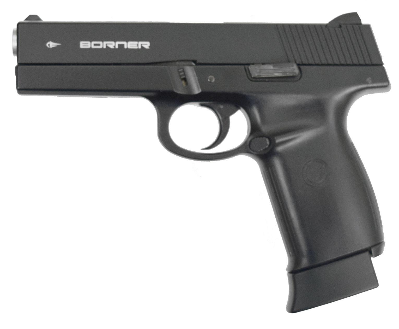 Пневматический пистолет Borner KMB12 (Smith & Wesson, Blowback)