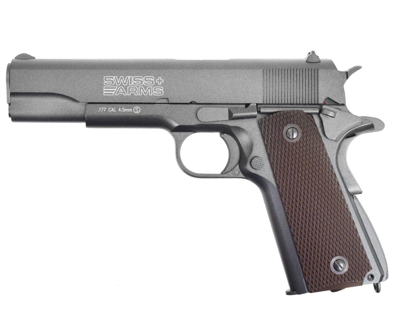 Пневматический пистолет Swiss Arms P1911 (Кольт 1911)