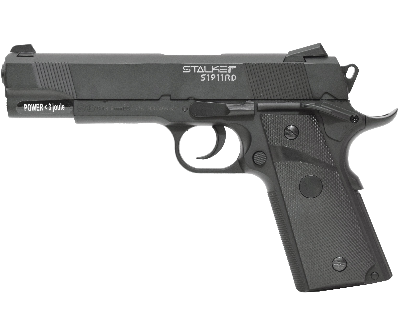 Пневматический пистолет Stalker S 1911RD (Colt 1911)