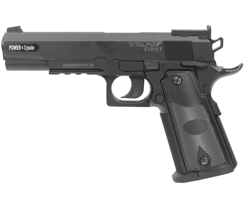 Пневматический пистолет Stalker S1911T (Colt 1911)
