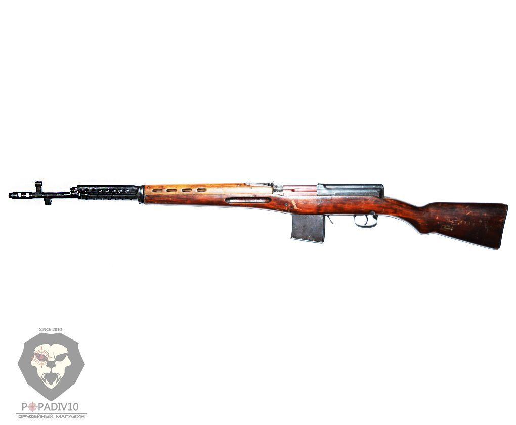Охолощенная винтовка СВТ-СХ (Токарева)