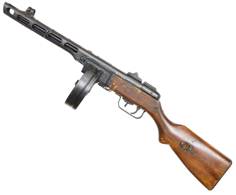 Охолощенный пулемет ППШ-СХ (Шпагина сигнальный)
