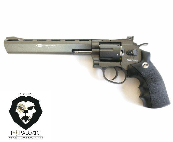 Пневматический пистолет Gletcher SW B8