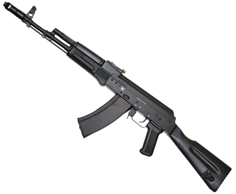 Макет Автомата Калашникова ММГ АК-74 (стационарный пластиковый приклад)