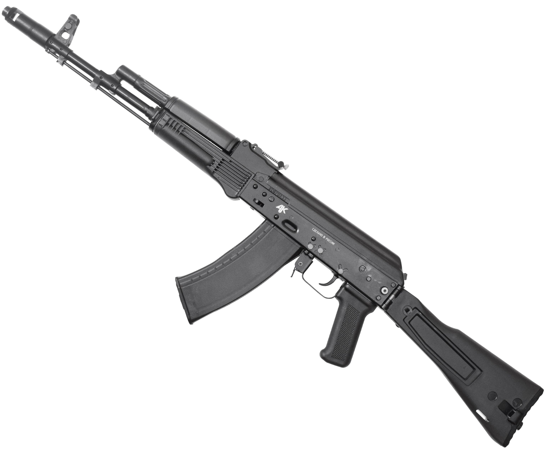 Макет Автомата Калашникова ММГ АК-74М (складной пластиковый приклад)
