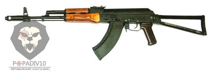 ММГ АК-103 складной приклад металлическая рамка, с боковой прицельной планкой