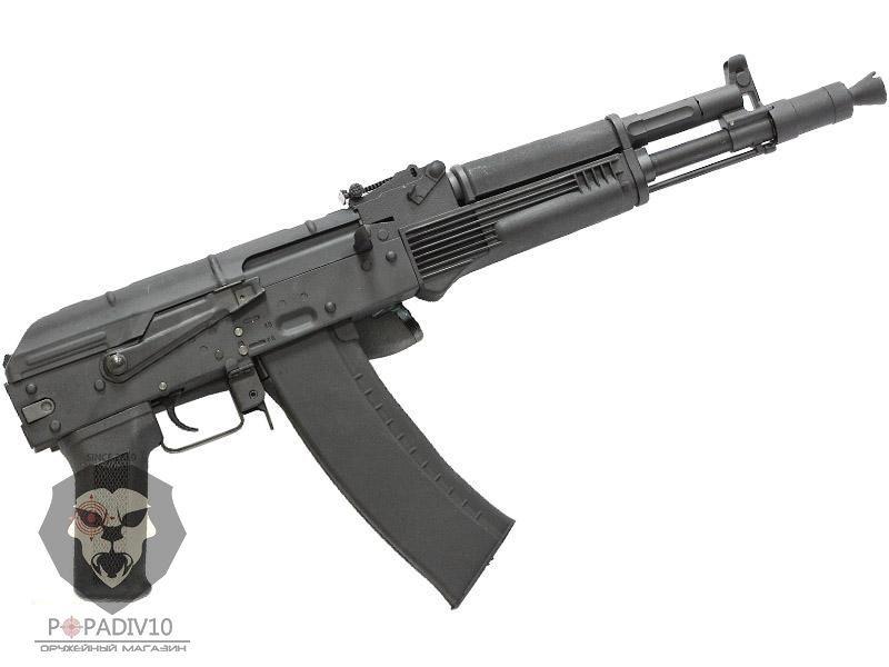 ММГ АК-105 складной приклад металлическая рамка, с боковой прицельной планкой