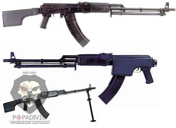 ММГ пулемета РПК 74М (ручной пулемет Калашникова, макет)