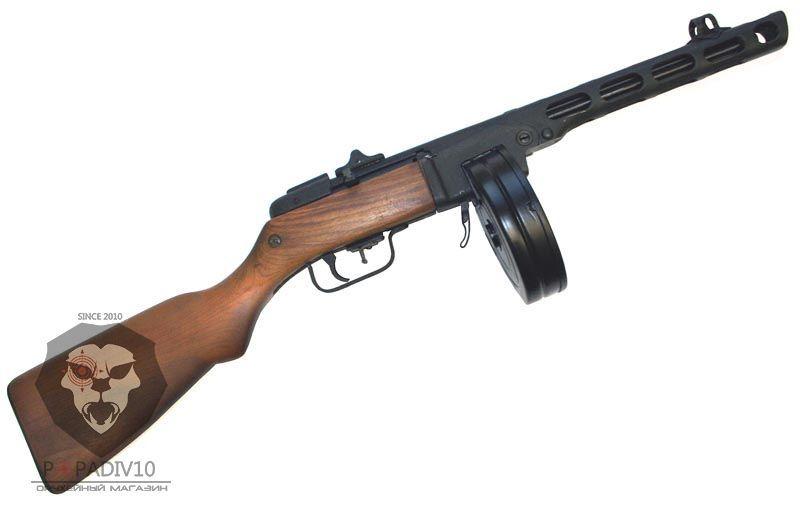 Макет винтовки ППШ ВПО-512 Папаша (ППШ-М, без клапанного механизма)