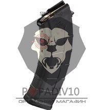 ММГ магазин АК103 7,62мм, черный металл, ребристый, раритет