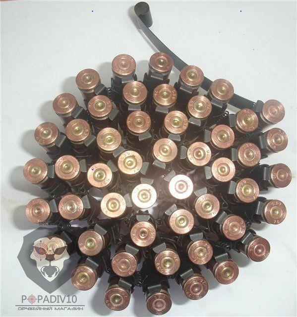 Макет ленты к пулемету РПД (7.62х39, оригинал, раритет на 50 патронов)