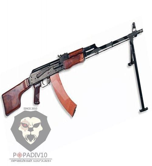 Списанный учебный ручной пулемет Калашникова (Макет, ВПО-914 РПК)