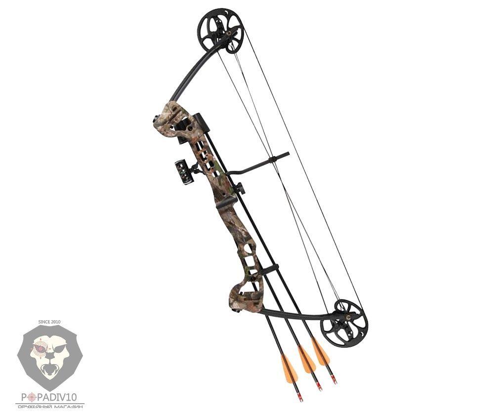 Лук блочный Barnett Vortex 19-45lb PKG (Прицел, полочка, кивер, 3 стрелы)