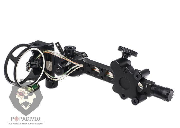 Прицел Topoint (5pin-0.19) оптоволконо, подсветка, микро-настройка, регулировка выноса