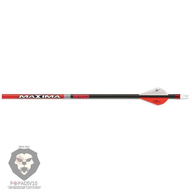 Стрела лучная карбоновая CX Maxima Red 350 Blazer Vanes