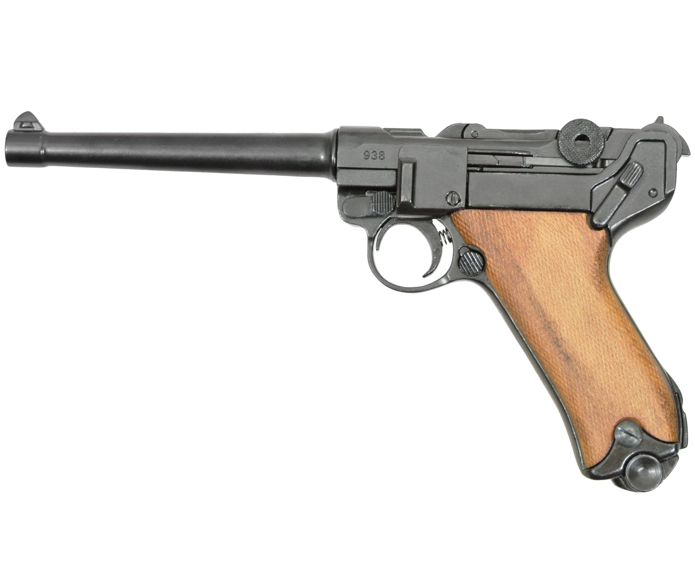 Макет пистолета Люгера D7/M-1144 Parabellum P 08 (ММГ, Парабеллум)