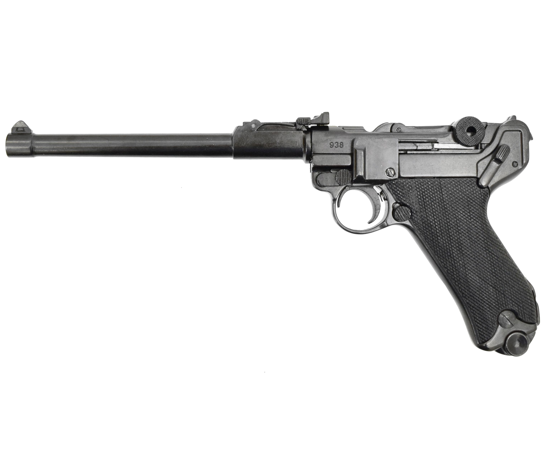 Макет пистолета Denix D7/1145 Люгер Р 08 Парабеллум Артиллерийский (ММГ)