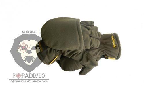 Перчатки-варежки Remington б/п, р. L-XL (зеленый), шт
