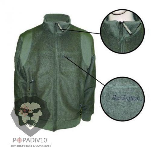 Свитер (куртка драповая) Remington, р. L (зеленый), шт