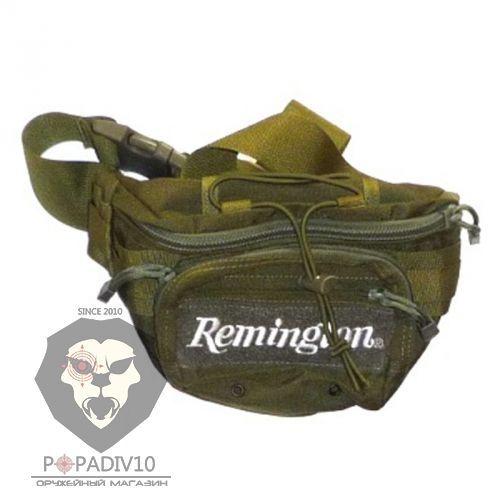 Сумка Remington поясная (зеленый), 25х18см, шт