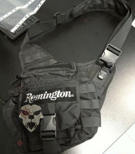 Сумка-рюкзак Remington черная, 5л, 30х30см, шт