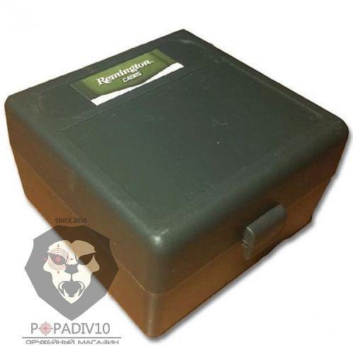 Футляр Remington для патронов 100шт, кал. 223Rem, 222Rem (зеленый), шт