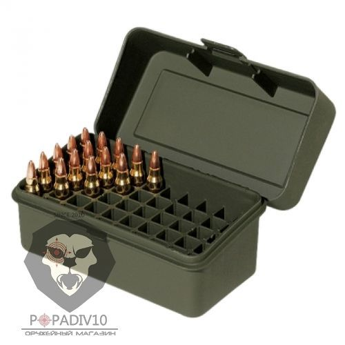 Футляр Remington для патронов 50шт, кал. 223Rem, 222Rem (зеленый), шт