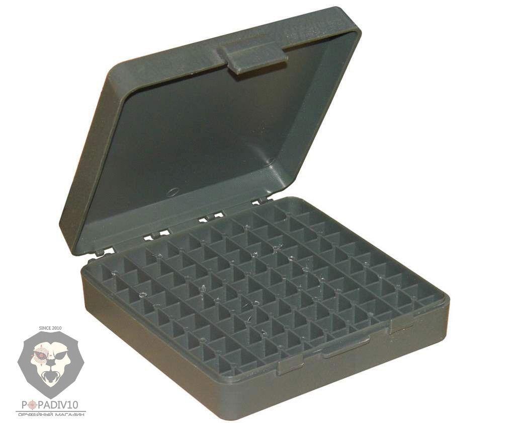 Футляр Remington для патронов 100шт, кал. 9мм (пластик, зеленый), шт