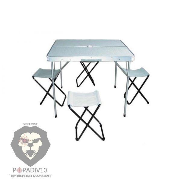 """Набор """"Base-2"""" из 4-х складных стульев и стола, шт"""