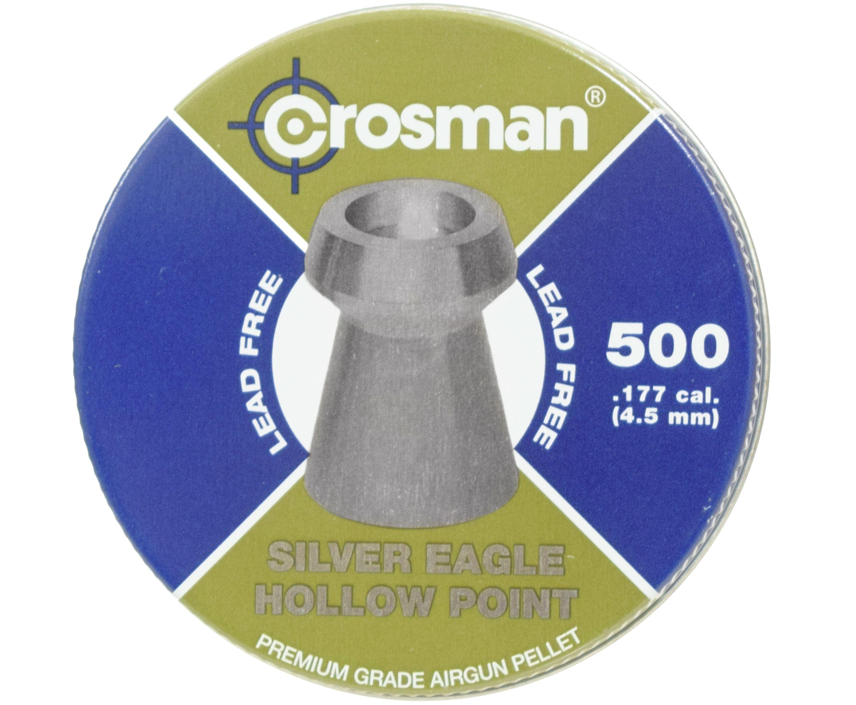 Пули пневматические Crosman Premier Hollow Point 4.5 мм (500 шт, 0.51 г)