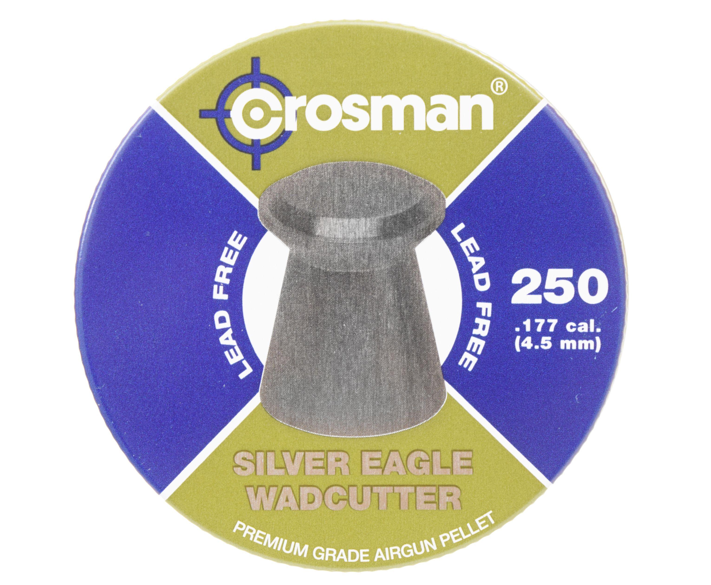 Пули пневматические Crosman Silver Eagle WC 4.5 мм (250 шт, 0.31 г)