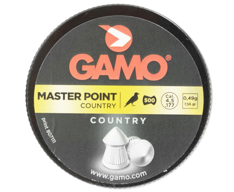 Пули пневматические Gamo Master Point 4.5 мм (500 шт, 0.49 г)