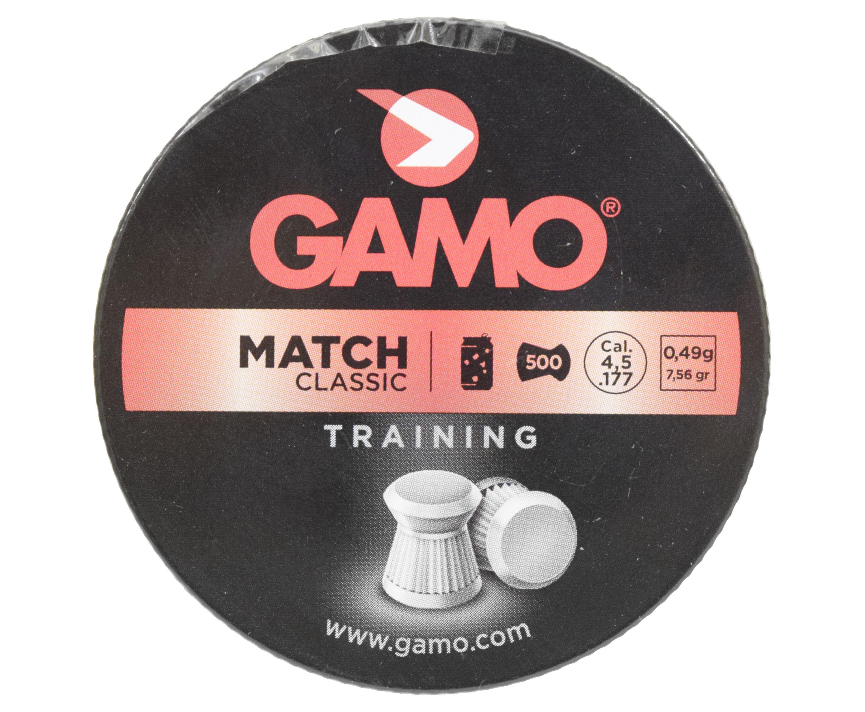 Пули пневматические Gamo Match 4.5 мм (500 шт, 0.5 г)