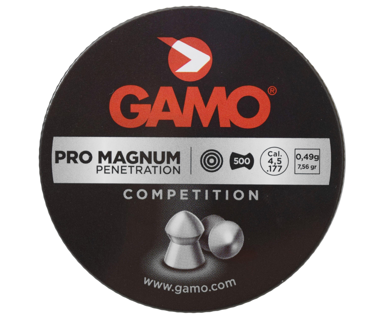 Пули пневматические Gamo Pro-Magnum 4.5 мм (500 шт, 0.49 г)